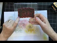 Visible Image - Stamped and Stencilled Inky Layers - YouTube