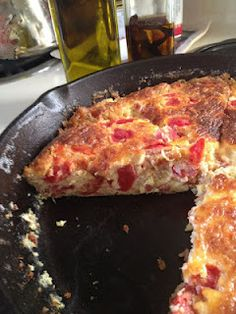 Low-Carb Recipe for the Crustless Quiche I thought up... it's super yummy!!