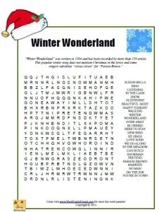 Winter Wonderland Word Search (sub activity) Christmas Crossword, Christmas Worksheets, Christmas Puzzle, Christmas Words, Christmas Games, Christmas Activities, Christmas Colors, Christmas Projects, Christmas Holidays