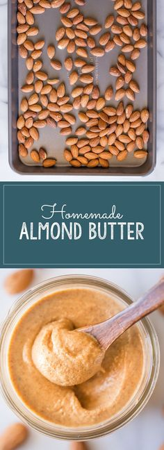 Homemade Almond Butter - Lovely Little Kitchen