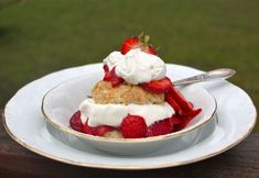 Honey Whole-Wheat Strawberry Shortcakes for Mother's Day | Simple Bites