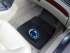 Penn State Nittany Lions Heavy Duty 2-Piece Vinyl Car Mats