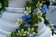 Wedding Cake, Bryonny Flower and Alexander Butterfly