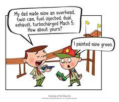 Pinewood derby... Lol