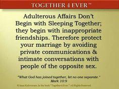 Adulterous affairs. ...