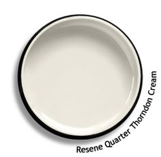Resene Quarter Thorndon Cream is a clean sharp and fresh variant. View this and of other colours in Resene's online colour Swatch library Paint Swatches, Color Swatches, Room Colors, House Colors, Zoffany Paint, Resene Colours, Interior Paint Colors, Paint Colours, Colors