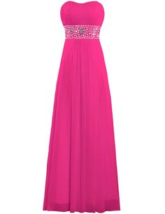 ANTS Women's Strapless Chiffon Evening Gown Long Prom Dresses -- You can find more details by visiting the image link. (This is an affiliate link and I receive a commission for the sales) #Promand Homecoming Dress