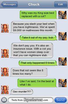 http://textsfromsuperheroes.com