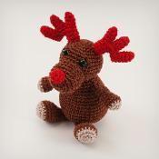 Amigurumi Crochet Rudolf the Reindeer - via @Craftsy
