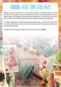 In depth review on the Gelli Arts® Gel Printing Plate — Roben-Marie Smith - The Official Website of Tech-Savvy Artist Roben-Marie Smith