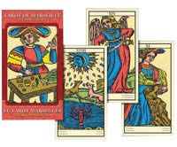 Major Arcana large size (80mm x 145mm) version of the Universal Tarot of Marseille. 22 Cards. Full colour.