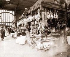 Eugene Atget   eugene atget boucheries les halles 1898 tirage entre 1898 et 1900 d ...