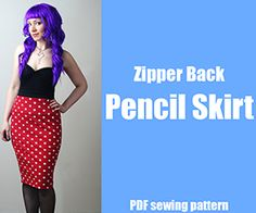 How to Make a Pencil Skirt – DIY Fashion Tutorial « DiY crafts, free sewing tutorials & kickass clothing patterns – WhatTheCraft.com