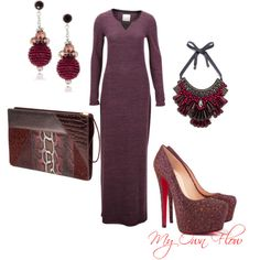 """""""AFTER WORK DINNER"""" by myownflow on Polyvore"""