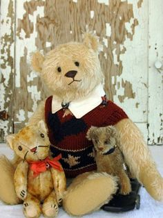 Pat and Jen Murphy Bear, Lawrence C. Cat and Terrier Dog! Instant Collection! picclick.com