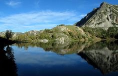 Ice Lake (Eagle Cap Wilderness, Oregon) -- Camping, backpacking, & hiking at 8,000 feet.