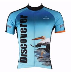 Men Cycling Jersey Flamingo And Pelican Bicycle Sportswear Bike Men Cycling  Clothing Short Sleeve Cycling Jersey 758d31476