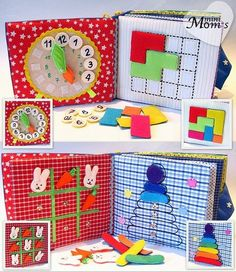 Quiet e Busy Book: un'idea DIY da creare per i nostri bimbi