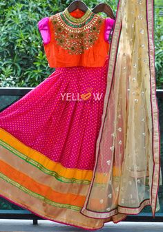 Readily available for 11 yr old@ 10 000 INRKindly write to us at teamyellow@yellowkurti.com or private message us here on Facebook for Orders !