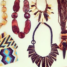 Feeling a little tribal today  #tribal #feelingfestive #style #statement #jewelry #boutique #chic #love #kkbloomboutique