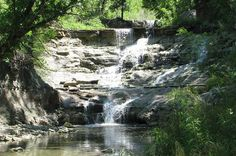 Chase State Fishing Lake offers fishing, camping and gorgeous nature walks including 3 waterfalls!