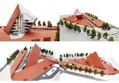 Visualisations of the Museum building « Museum of the Second World War