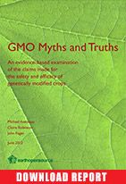 #LabelGMOs - GMO MYTHS AND TRUTHS REPORT