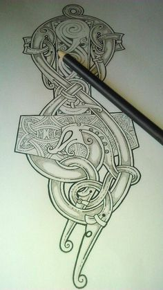 Mjollnir tattoo More