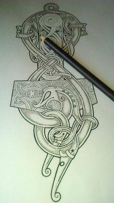 Mjollnir tattoo                                                                                                                                                                                 More
