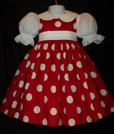 Hey, I found this really awesome Etsy listing at https://www.etsy.com/listing/80582386/redwhite-dot-jumper-dress-custom-size