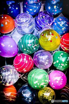 ヨーヨーすくい Japanese water balloons