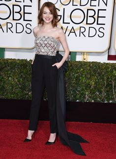 Pin for Later: Whose Oscars Gown Are You Most Excited For? Best Supporting Actress: Emma Stone