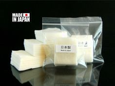 JAPANESE 100% ORGANIC COTTON NO ADHESIVES THE BEST IN STOCK VAPE ATTY 25 PADS