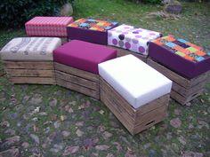 Hocker von AKAL-die-Kistenwerkstatt auf DaWanda.com