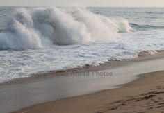 8 x 10 matted photograph Ocean waves The Wedge by RoadAheadPhotos, $21.50