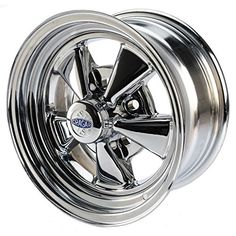 Cragar 61 S/S inch Chrome Wheel Rim, Silver Rims For Cars, Rims And Tires, Car Rims, Chrome Wheels, Car Wheels, Recessed Light Conversion Kit, Revell Model Kits, Led Recessed Lighting, Aftermarket Wheels