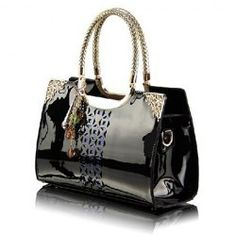 6024b6bb8a Tote For Women  Cute Black Leather Tote Bags Fashion Sale Online
