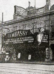 The Embassy Theater in 1929