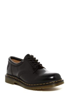 Details about NIB DR MARTENS Men's 'GREASY' 1461 Black LEATHER SHOES 7 39