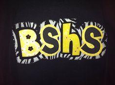 School Spirit Shirt on Etsy, $22.00