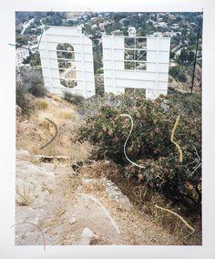 Sam Falls, 'Untitled (Oh Hollywood),' 2016, Galerie Eva Presenhuber