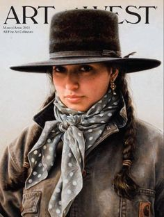 Carrie Ballantyne, Artist    Her painting featured on Art West magazine cover.