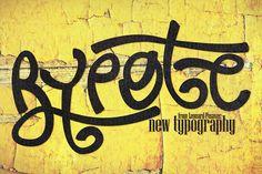 Font   Rypote by Leonard Posavec on @creativemarket