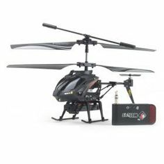 iCam Helicopter with Camera for iPhone, iPad and Android (Black) by VTooLand. $62.99. Highlights Use your Apple iOS or Android device to fly and control the helicopter by downloading the free app available from Apple's App Store or Android Market Record what the helicopter sees with the built-in camera Take high quality photographs and videos Allows you to fly up to 8 meters (24 feet) into the air  Built-in rechargeable battery rechargeable via any USB port Basic...