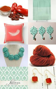 Cayenne and Helmock by Maria Schultz on Etsy--Pinned with TreasuryPin.com