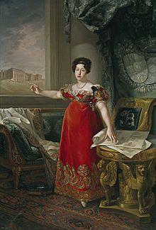 Infanta D. Maria Isabel de Portugal e Rainha da Espanha (1797-1818). Casa Real: Bragança; Bourbon Editorial: Real Lidador Portugal Autor: Rui Miguel