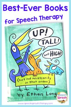 Teach basic concepts with this adorable book perfect for preschool speech therapy. Position concepts and size concepts.Includes tips for speech therapy activities to extend the lesson. Preschool Speech Therapy, Speech Therapy Activities, Speech Language Pathology, Language Activities, Speech And Language, Book Activities, Articulation Activities, Vocabulary Activities, Physical Activities