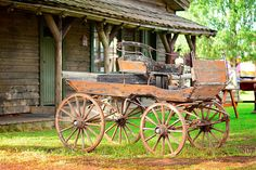 Old Stagecoach Parked