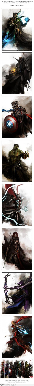 Os Vingadores Medievais.