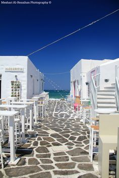 Path to the Sea, Paros, Greece